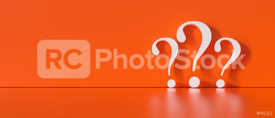 Question marks on red wall background  - FAQ Concept image  : Stock Photo or Stock Video Download rcfotostock photos, images and assets rcfotostock | RC-Photo-Stock.: