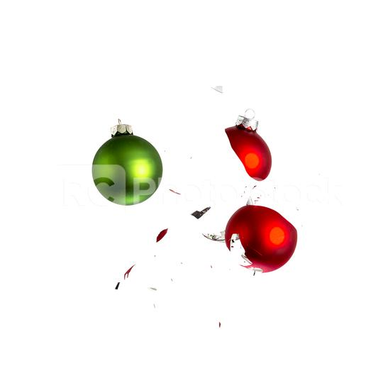 red and green christmas balls collision  : Stock Photo or Stock Video Download rcfotostock photos, images and assets rcfotostock   RC-Photo-Stock.: