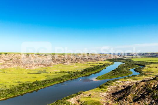 Red Deer River valley near drumheller in canada  : Stock Photo or Stock Video Download rcfotostock photos, images and assets rcfotostock | RC-Photo-Stock.: