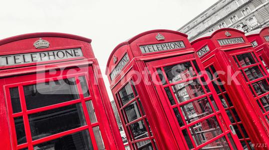 red telephone boxes of Broad Court, Covent Garden, london, uk  : Stock Photo or Stock Video Download rcfotostock photos, images and assets rcfotostock | RC-Photo-Stock.: