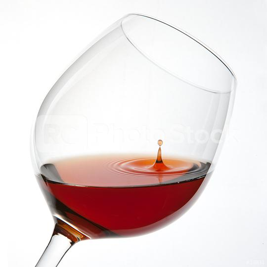 Red Wine Glas silhouette with a Drop on White Background  : Stock Photo or Stock Video Download rcfotostock photos, images and assets rcfotostock   RC-Photo-Stock.: