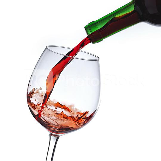 Rot wein in ein glas einschänken  : Stock Photo or Stock Video Download rcfotostock photos, images and assets rcfotostock | RC-Photo-Stock.: