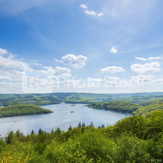 Rursee at the Eifel in germany  : Stock Photo or Stock Video Download rcfotostock photos, images and assets rcfotostock   RC-Photo-Stock.: