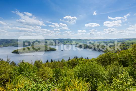 Rursee at the Eifel national park at summer  : Stock Photo or Stock Video Download rcfotostock photos, images and assets rcfotostock | RC-Photo-Stock.: