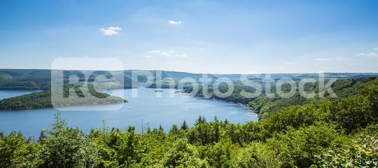 Rursee lake at summer  : Stock Photo or Stock Video Download rcfotostock photos, images and assets rcfotostock | RC-Photo-Stock.: