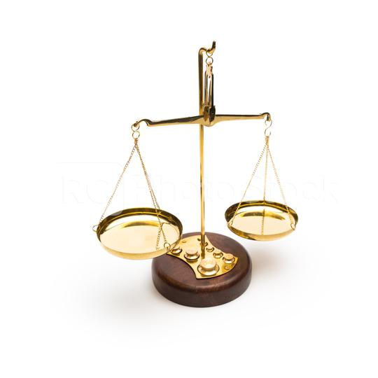 Scales of justice isolated on white background  : Stock Photo or Stock Video Download rcfotostock photos, images and assets rcfotostock   RC-Photo-Stock.: