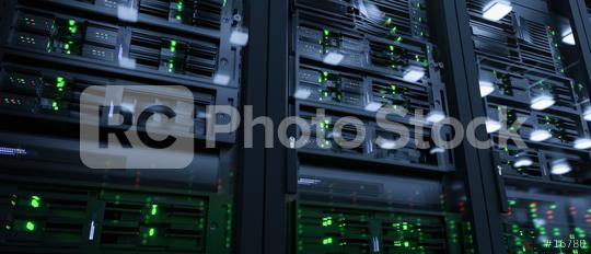 Server units in cloud service data center showing flickering light indicators for massive data connection bandwidth, close up shot  : Stock Photo or Stock Video Download rcfotostock photos, images and assets rcfotostock   RC-Photo-Stock.:
