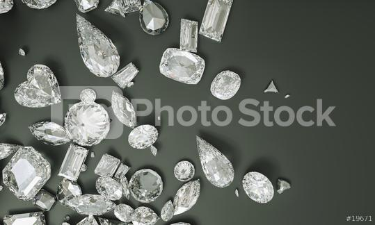 shapes and cuts of diamonds, princess, cushion, heart, pear, marquise, radiant, Asscher, emerald and ova - 3D Rendering  : Stock Photo or Stock Video Download rcfotostock photos, images and assets rcfotostock | RC-Photo-Stock.:
