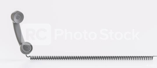 Shot of a black landline telephone receiver with copy space for individual text  : Stock Photo or Stock Video Download rcfotostock photos, images and assets rcfotostock   RC-Photo-Stock.: