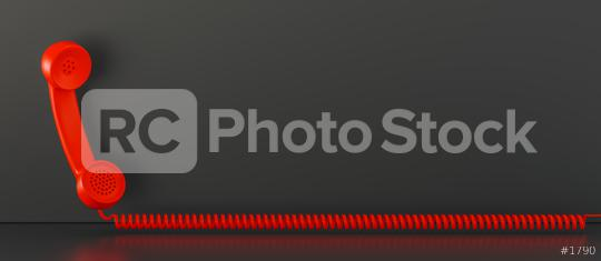 Shot of a landline telephone receiver with copy space for individual text  : Stock Photo or Stock Video Download rcfotostock photos, images and assets rcfotostock | RC-Photo-Stock.: