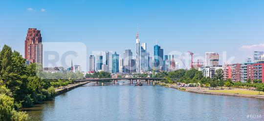 skyline of Frankfurt in Germany  : Stock Photo or Stock Video Download rcfotostock photos, images and assets rcfotostock | RC-Photo-Stock.: