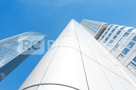 Skyscrapers in Frankfurt, Germany  : Stock Photo or Stock Video Download rcfotostock photos, images and assets rcfotostock   RC-Photo-Stock.: