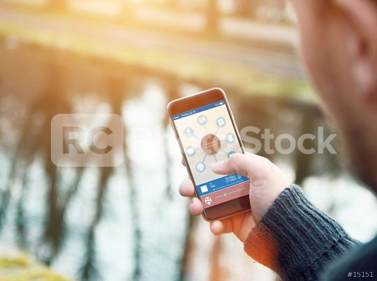 Smart Home Device - Home Control  : Stock Photo or Stock Video Download rcfotostock photos, images and assets rcfotostock | RC-Photo-Stock.: