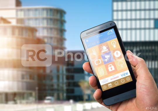 Smart Home Device - Office Control  : Stock Photo or Stock Video Download rcfotostock photos, images and assets rcfotostock | RC-Photo-Stock.: