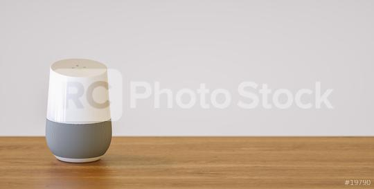 smart speaker with copy space for individual text  : Stock Photo or Stock Video Download rcfotostock photos, images and assets rcfotostock | RC-Photo-Stock.: