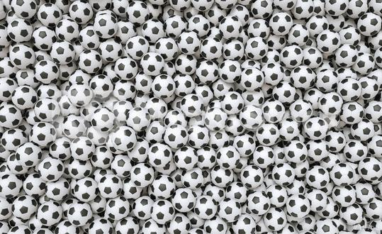 Soccer ball background - 3D Rendering  : Stock Photo or Stock Video Download rcfotostock photos, images and assets rcfotostock | RC-Photo-Stock.: