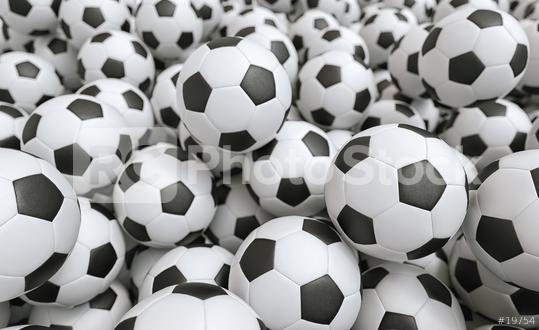 Soccer balls - 3D Rendering  : Stock Photo or Stock Video Download rcfotostock photos, images and assets rcfotostock   RC-Photo-Stock.: