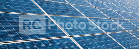 solar panels photovoltaic, alternative electricity source, banner size  : Stock Photo or Stock Video Download rcfotostock photos, images and assets rcfotostock   RC-Photo-Stock.:
