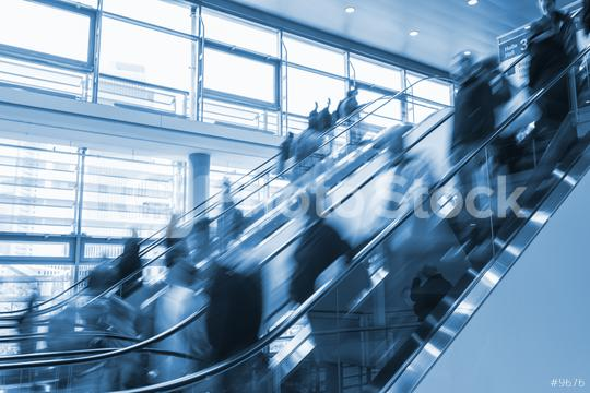staircase at a trade fair  : Stock Photo or Stock Video Download rcfotostock photos, images and assets rcfotostock | RC-Photo-Stock.: