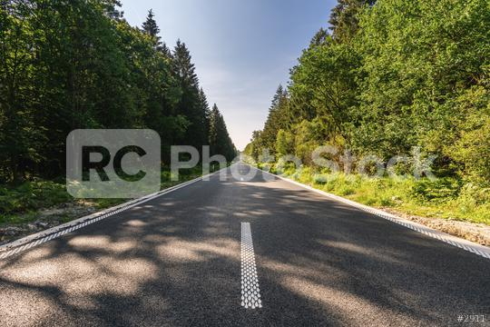 Street through the woods  : Stock Photo or Stock Video Download rcfotostock photos, images and assets rcfotostock | RC-Photo-Stock.: