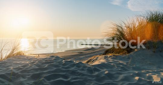 Sunset at the dune beach   : Stock Photo or Stock Video Download rcfotostock photos, images and assets rcfotostock   RC-Photo-Stock.: