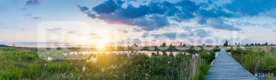 sunset panorama at the Hautes Fagnes  : Stock Photo or Stock Video Download rcfotostock photos, images and assets rcfotostock | RC-Photo-Stock.: