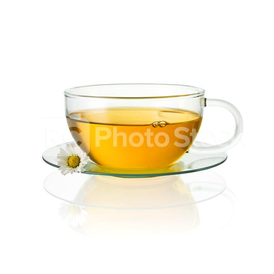 teapot glass with chamomile daisy hot drink medicine isolated on white background with reflection  : Stock Photo or Stock Video Download rcfotostock photos, images and assets rcfotostock | RC-Photo-Stock.: