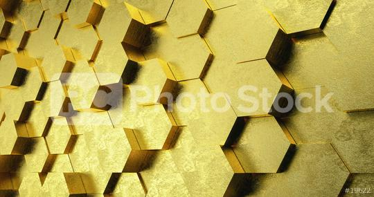 Technical Golden 3D white hexagonal background structure  : Stock Photo or Stock Video Download rcfotostock photos, images and assets rcfotostock | RC-Photo-Stock.: