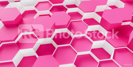technology hexagon pattern pink background - 3d rendering - Illustration   : Stock Photo or Stock Video Download rcfotostock photos, images and assets rcfotostock   RC-Photo-Stock.: