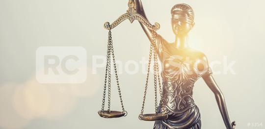 The Statue of Justice - lady justice or Iustitia / Justitia the Roman goddess of Justice   : Stock Photo or Stock Video Download rcfotostock photos, images and assets rcfotostock | RC-Photo-Stock.: