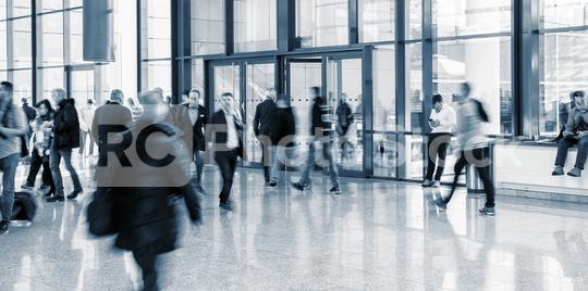 trade fair entrance with Blurred business people  : Stock Photo or Stock Video Download rcfotostock photos, images and assets rcfotostock   RC-Photo-Stock.:
