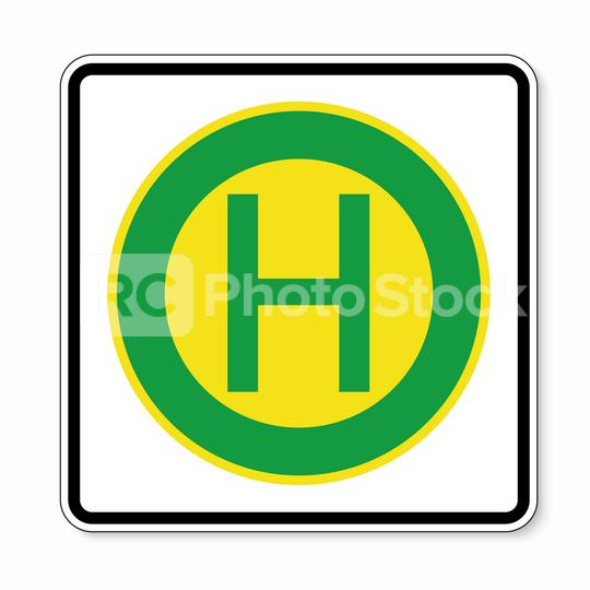 traffic sign bus station. German traffic sign at a bus stop on white background. Vector illustration. Eps 10 vector file.  : Stock Photo or Stock Video Download rcfotostock photos, images and assets rcfotostock | RC-Photo-Stock.: