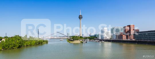 travel to Dusseldorf in Germany medienhafen at summer  : Stock Photo or Stock Video Download rcfotostock photos, images and assets rcfotostock | RC-Photo-Stock.: