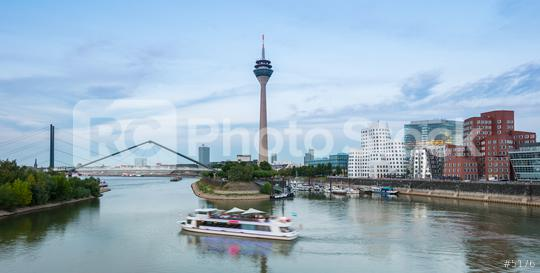 travel to the media harbor in Dusseldorf germany  : Stock Photo or Stock Video Download rcfotostock photos, images and assets rcfotostock | RC-Photo-Stock.: