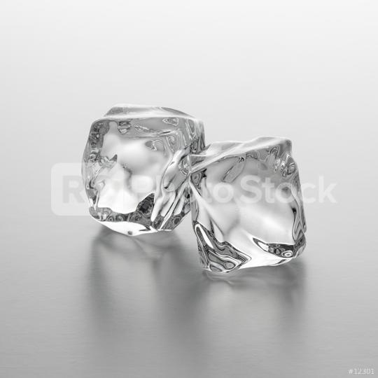 two ice cubes  : Stock Photo or Stock Video Download rcfotostock photos, images and assets rcfotostock   RC-Photo-Stock.: