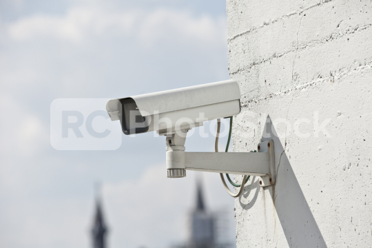 Überwachungskameras security in der Stadt  : Stock Photo or Stock Video Download rcfotostock photos, images and assets rcfotostock | RC-Photo-Stock.: