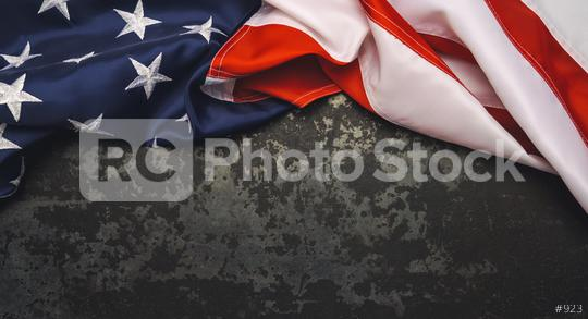 United States Flag On Black Background. copyspace for your individual text.  : Stock Photo or Stock Video Download rcfotostock photos, images and assets rcfotostock | RC-Photo-Stock.: