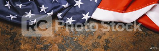 United States Flag On Dark Rusty  Background, banner size. copyspace for your individual text.  : Stock Photo or Stock Video Download rcfotostock photos, images and assets rcfotostock | RC-Photo-Stock.: