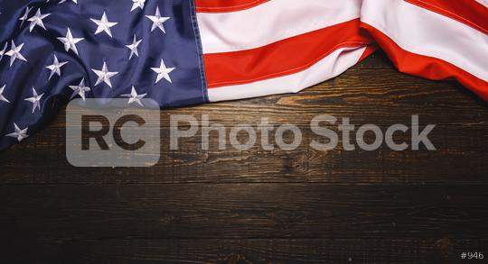 USA flagon placed on old grunge wooden planks. Motive of celebration, copyspace for your individual text.  : Stock Photo or Stock Video Download rcfotostock photos, images and assets rcfotostock | RC-Photo-Stock.: