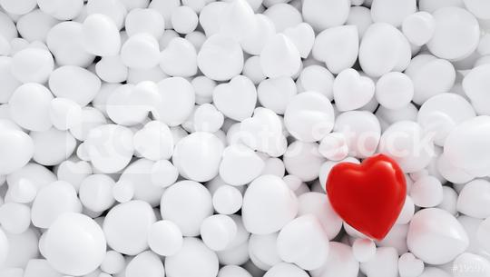 Valentine Hearts Background, including Copy space - 3D Rendering   : Stock Photo or Stock Video Download rcfotostock photos, images and assets rcfotostock   RC-Photo-Stock.: