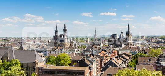 view of aachen (Aix-la-Chapelle)  : Stock Photo or Stock Video Download rcfotostock photos, images and assets rcfotostock | RC-Photo-Stock.: