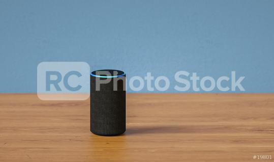 voice controlled smart speaker  : Stock Photo or Stock Video Download rcfotostock photos, images and assets rcfotostock | RC-Photo-Stock.: