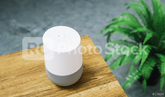 voice controlled smart speaker  : Stock Photo or Stock Video Download rcfotostock photos, images and assets rcfotostock   RC-Photo-Stock.: