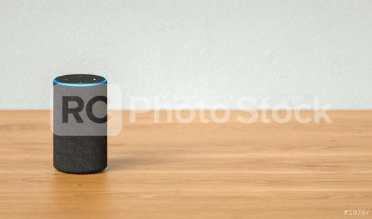 voice controlled smart speaker including copy space  : Stock Photo or Stock Video Download rcfotostock photos, images and assets rcfotostock | RC-Photo-Stock.: