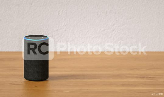 voice controlled smart speaker, with copy space for individual text  : Stock Photo or Stock Video Download rcfotostock photos, images and assets rcfotostock | RC-Photo-Stock.: