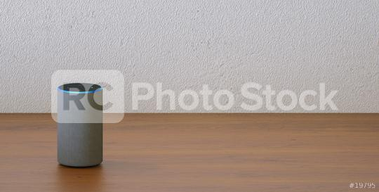 voice controlled smart speaker with copy space for individual text  : Stock Photo or Stock Video Download rcfotostock photos, images and assets rcfotostock | RC-Photo-Stock.: