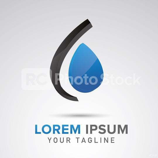 Water drop Logo design vector template. Corporate design. Vector illustration. Eps 10 vector file.  : Stock Photo or Stock Video Download rcfotostock photos, images and assets rcfotostock | RC-Photo-Stock.: