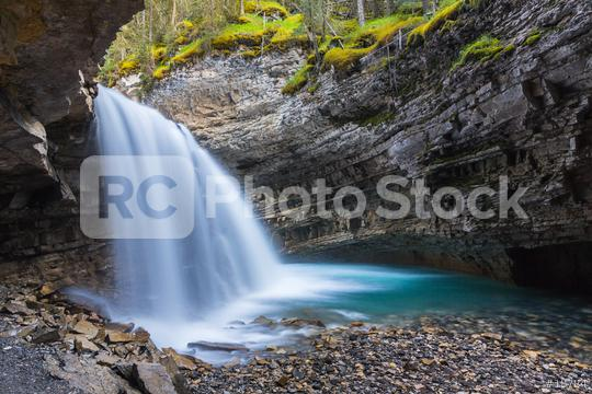 Waterfall at the Johnston Canyon in banff Canada   : Stock Photo or Stock Video Download rcfotostock photos, images and assets rcfotostock   RC-Photo-Stock.: