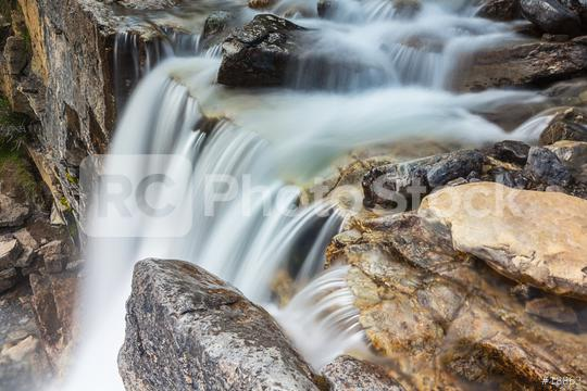 waterfall in the rocky mountains at the jasper national park canada  : Stock Photo or Stock Video Download rcfotostock photos, images and assets rcfotostock   RC-Photo-Stock.:
