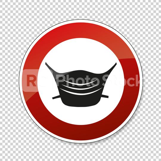 Wear a face mask or makeshift mask for coronavirus pandemic, prohibition sign, on checked transparent background. Vector illustration. Eps 10 vector file.  : Stock Photo or Stock Video Download rcfotostock photos, images and assets rcfotostock | RC-Photo-Stock.: